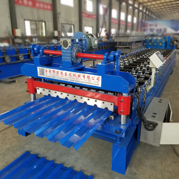 Roofing Panel IBR cold Roll Forming Machine