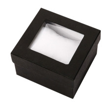 Colorful Recyclable Fancy Watch Paper Box with Window