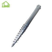 Customized Supplier for for Ground Screw with Nuts Hot galvanized ground screw with three nuts supply to Cook Islands Manufacturer