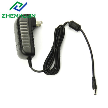 EU US Plug Adapter AC100-240V To DC12V 2A