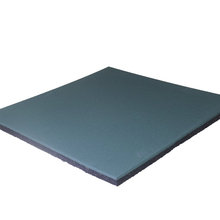 Factory directly sale for Best Gym Rubber Flooring,Gym Rubber Floor,Gym Exercise Rubber Mats Manufacturer in China 500x500mm,1000x1000mm gym rubber floor tiles export to Oman Supplier