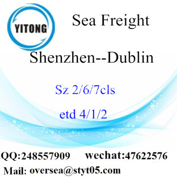 Shenzhen Port LCL Consolidation To Dublin