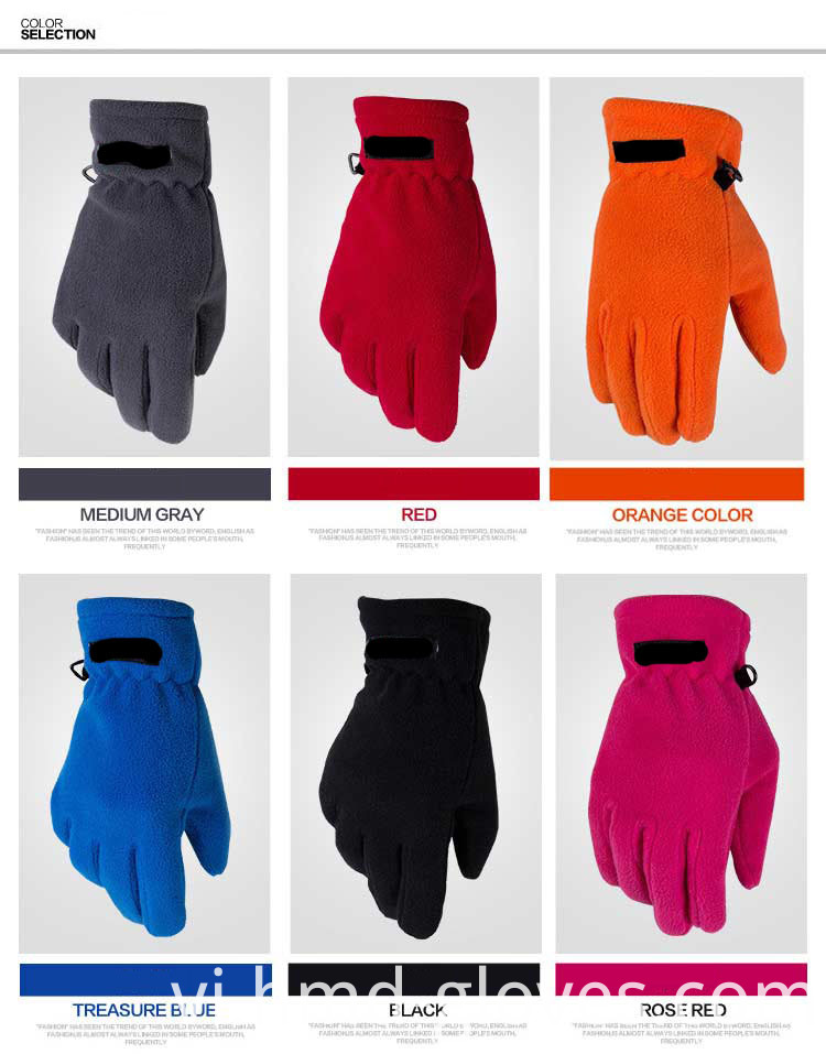 Thinsulate Fleece Gloves