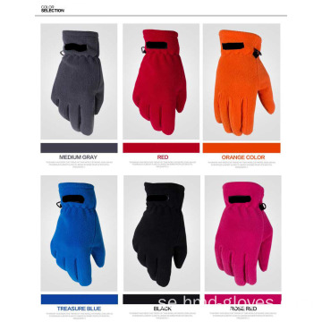 Promotional Mens 100% Polyester Fleece Handskar