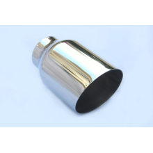 Factory Outlets for Stainless Steel Tail Pipes Round Weld-On SUV Exhaust Tips export to Puerto Rico Wholesale