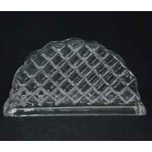 Hand Made Gridding Crystal Napkin Holder