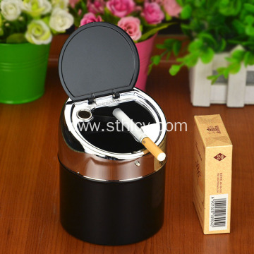 Creative personality with cover home storage ashtray