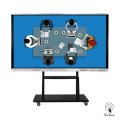98 Inches UHD Touchscreen Display with mobile stand
