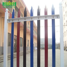 Cheap PriceList for High Quality Palisade steel fence Hot Sale Portable Heavy Galvanized Metal Yard Panel supply to Mauritania Manufacturer