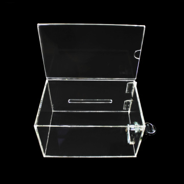 Custom Acrylic Transparent Display Box With Lock