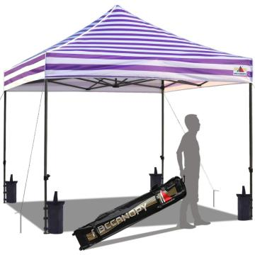 Custom printed 10x10 foldable canopy shade tent
