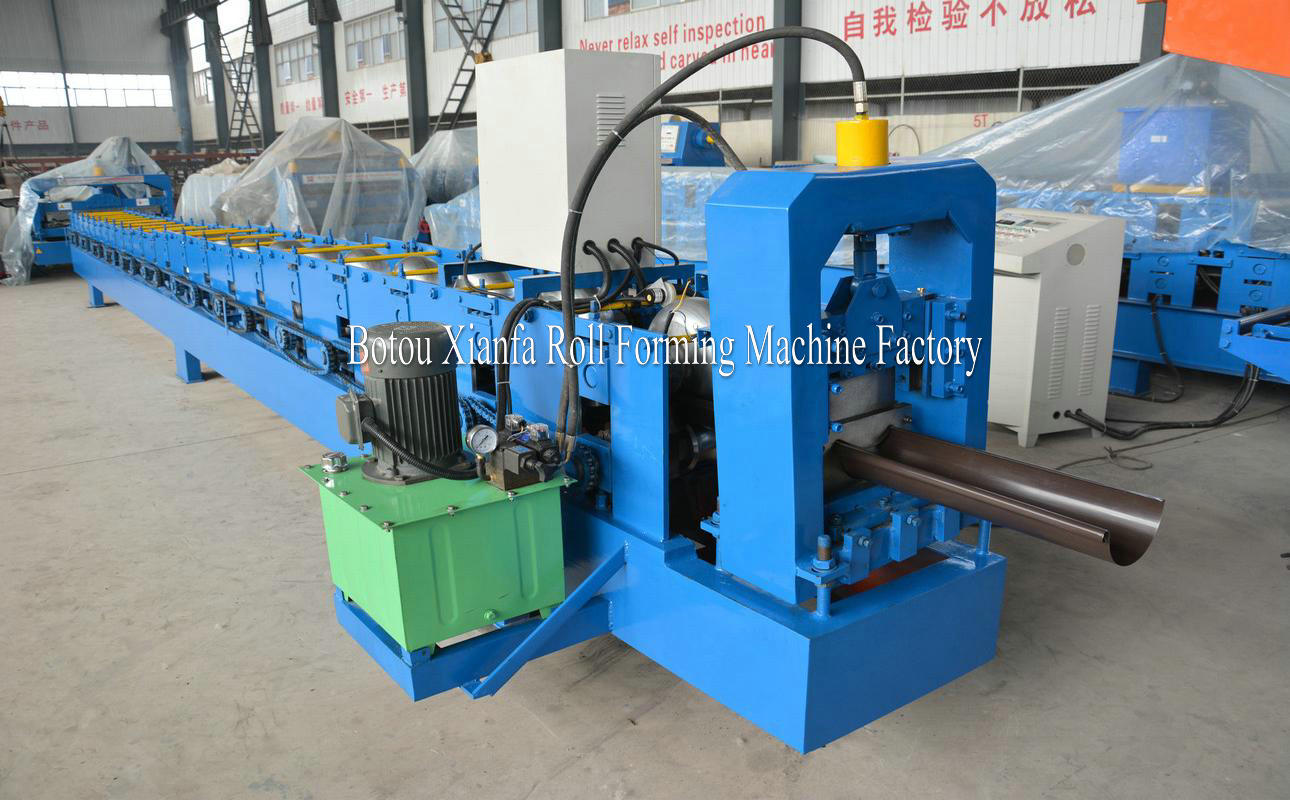 rain gutter machinery