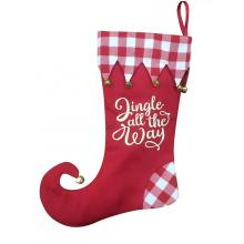 100% Original Factory for Christmas Stocking Christmas stocking with magic elf style supply to Armenia Manufacturer
