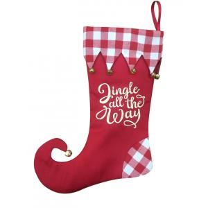 New Arrival China for Christmas Stocking Holders Christmas stocking with magic elf style supply to Italy Manufacturers