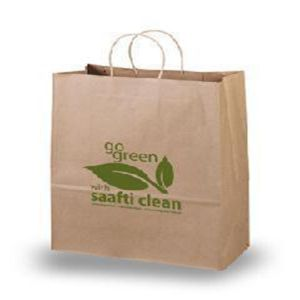 Top Suppliers for Kraft Paper Bag,White Kraft Paper Bag,Brown Kraft Paper Bag Manufacturers and Suppliers in China Brown recycle kraft paper bags with twisted handles export to Chad Wholesale