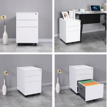 office storage cabinet steel  mobile pedestal