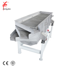 Linear sieving separating machine for quartz sand