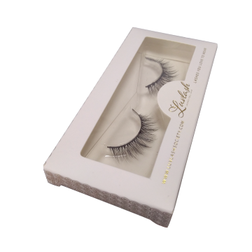 Custom Designed Gold Foil Affordable Mink Lashes Box