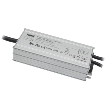 100W 100-347V LED LED Driver UL Listed.