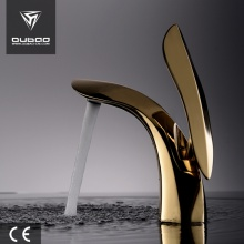 Modern Bathroom Single Handle Brass Face Basin Faucet