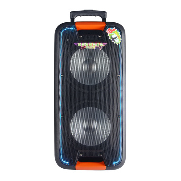 Dual 10 inch speaker 3.5mm audio jack