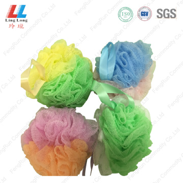 colorful bath Shower Body Scrubber Sponge for newborn