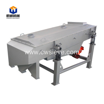 linear type silica sand gravel clay vibrator screen