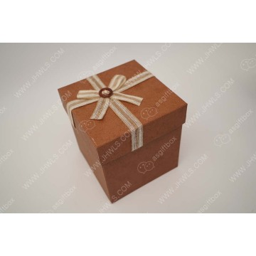 Hand-made Cosmetic Box with Butterfly Knot