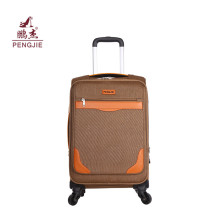 Fashion fabric 210D Lining EVA Soft Luggage Set