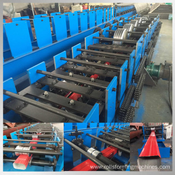 gutter rainpipe roll forming machine