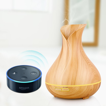 برنامه / کنترل صدا Wifi Smart Aroma Oil Diffuser Ultrasonic