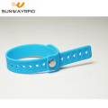 TK4100 RFID Silicone Bracelet Wristband with pocket
