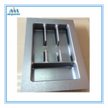 China for China supplier of Cutlery Trays For Drawers 400Mm, Plastic Cutlery Trays Drawers 400Mm Cut to Size Silver Plastic Tray supply to United States Suppliers