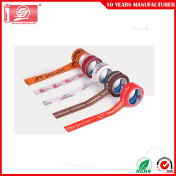 Custom printed Logo Bopp Packing Tape Adhesive Tape