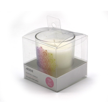 Natural Glass Jar Soy Candle