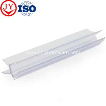 Shower enclosure glass waterproof seal strip
