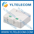 Empty Surface Mount Box Dual Port RJ45