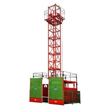 SS Simple High Quality Rack Materials Hoist Lift