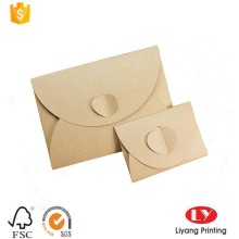 Wedding party invitation card packaging paper envelope