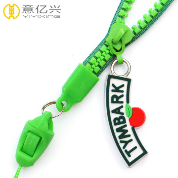 Wholesale best zipper key strap lanyard for keys