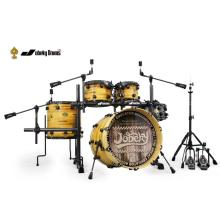 Well-designed for Pvc Drums PVC 5 Pieces Drum Kit supply to Anguilla Factories