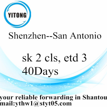 Shenzhen International Sea Freight Shipping to San Antonio