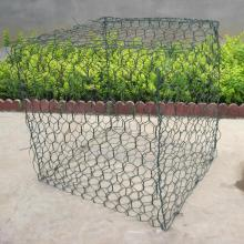 Top for Plastic Hexagonal Gabion Wire Mesh 2X2X1 PVC Coated Hexagonal Gabion Baskets export to Sierra Leone Manufacturer