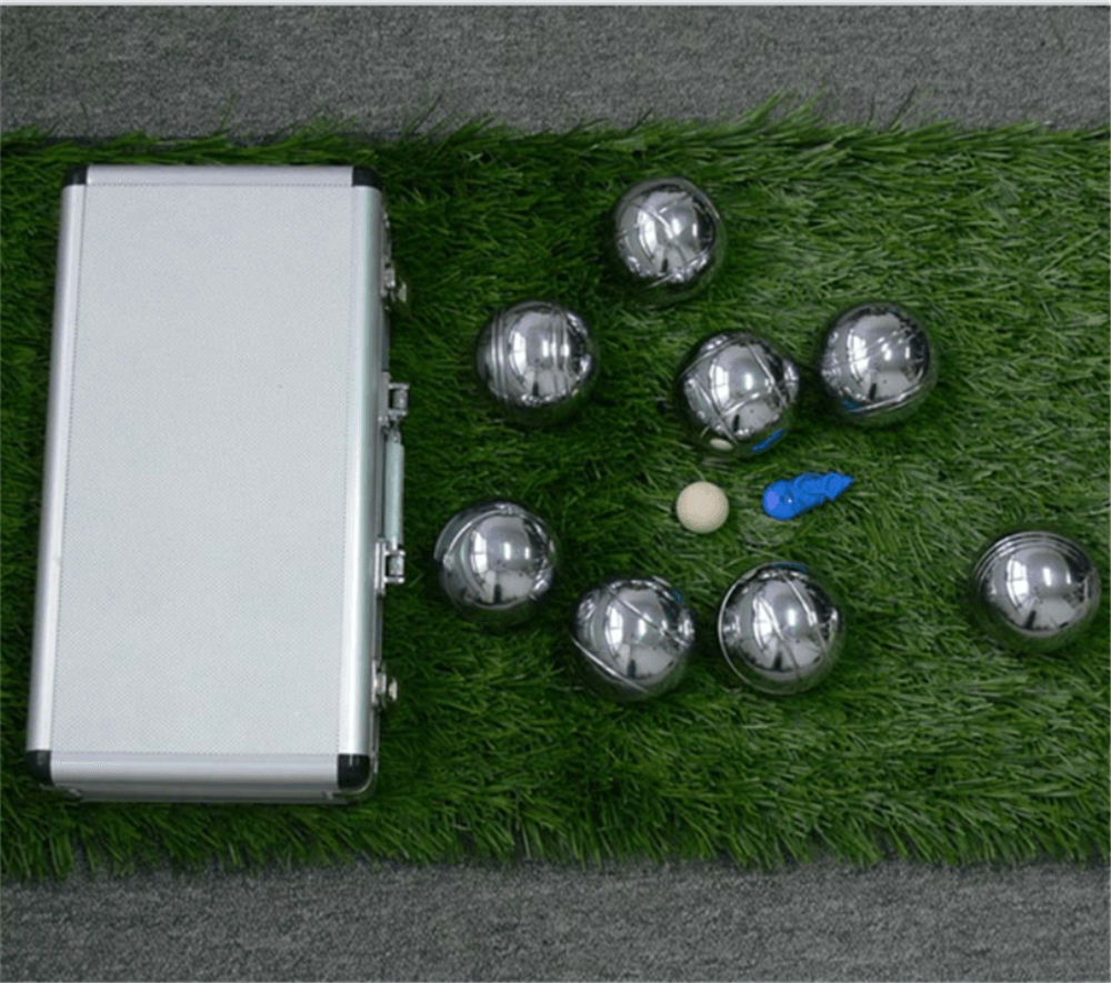bocce ball with alumnium box