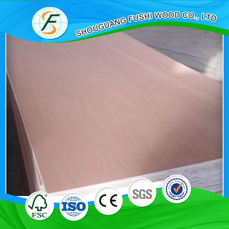 F4 Star Commercial Okoume face and back plywood