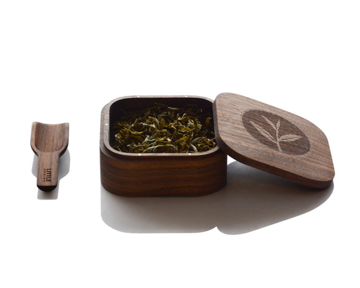 square food tea box