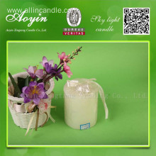 7.5*15 White Paraffin Wax Pillar Candle for Africa