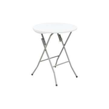 Hot Selling Convenient Coffee Shop Round Folding Table