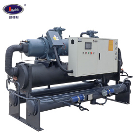 tubig cooled screw type chiller