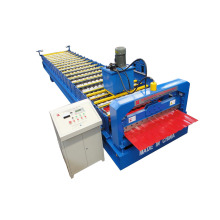 Aluminum Ibr Steel Roof Roll Forming Machine
